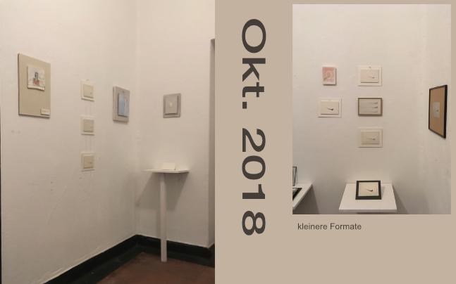 Kunstkiosk Königswinter kleinere Formate 2018