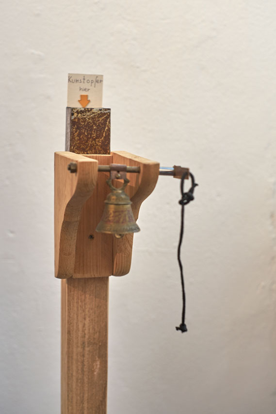 Kunstopfer von Jürgen Baas